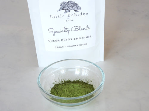 Little Echidna Home Organic Powder Blend - Green Detox Smoothie Blend
