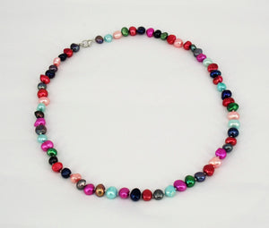 Colourful  Baroque Freshwater Pearls