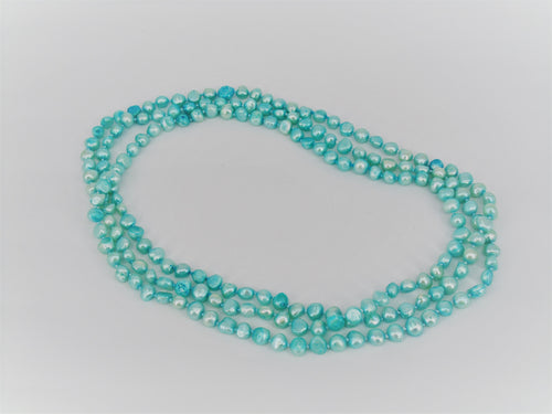 Baroque Turquoise freshwater pearls