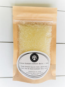 Harvest Bliss - Garden Green Bath Soaks