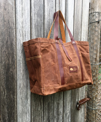 The 'Postman' tote - Vintage Style tote