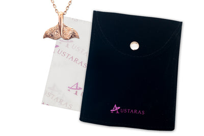 ✦Austaras Hawaiian✦ Whale Tail Pendant by Austaras - Protection Around Your Neck