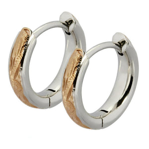 Kākala Hoop Earrings