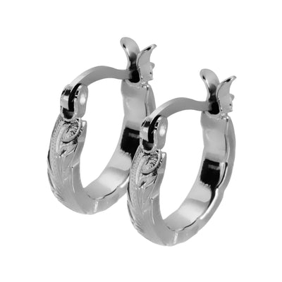 Hawaiian Hoop Earrings by Austaras - Feel Shiny Look Beautiful