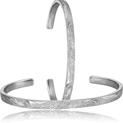 Hawaiian Bangle Bracelet by Austaras - Hawaii Beauty On Your Wrist