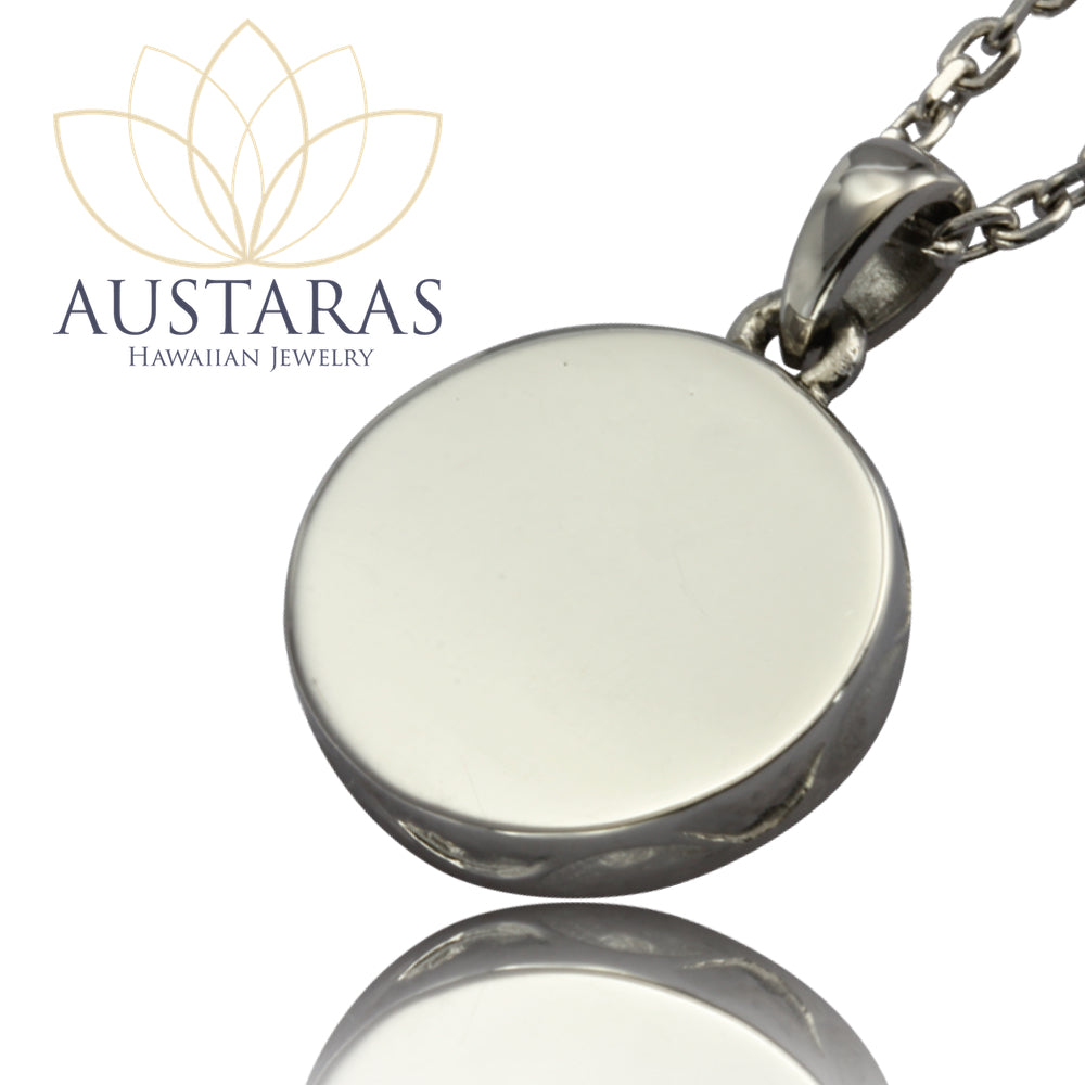 Austaras Seashell Necklace - Hawaiian Stainless Steel Necklace Pendant