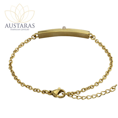 Austaras Hawaiian Charm Bracelet - Flowery Beauty on Your Wrist