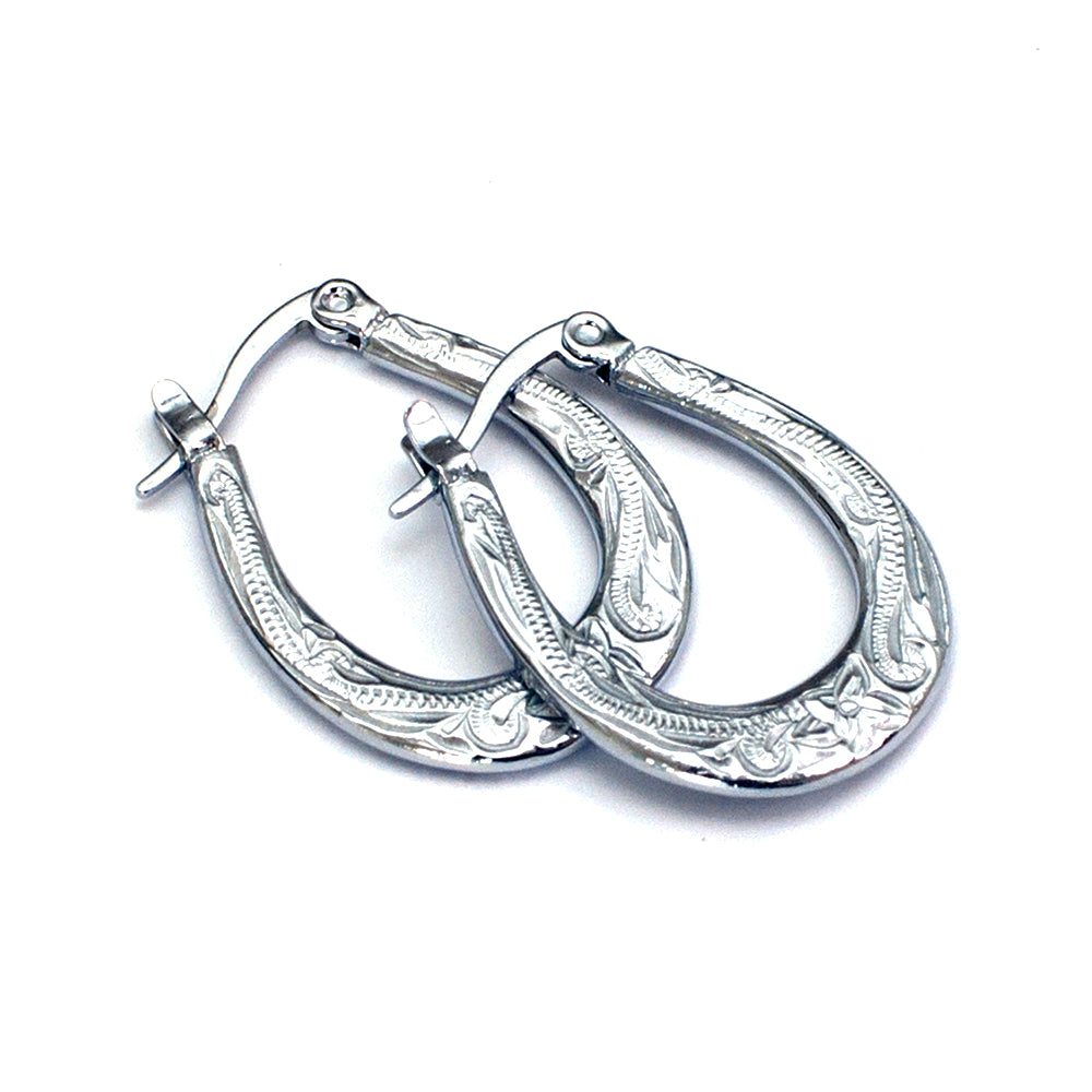 Hoāla Hoop Earrings