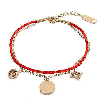 Red String Bracelet by Austaras - Good Lock Every Where You Go