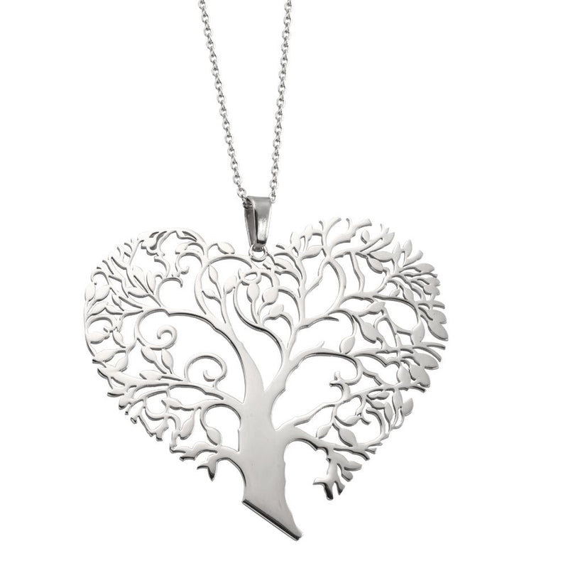 ✦Austaras✦ Tree of Love Heart Pendant Necklace Women Christmas gift For her