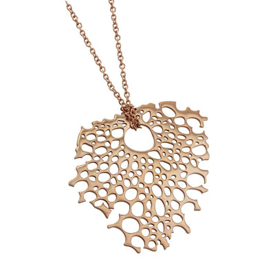 ✦Austaras✦ A piece of my heart Rose Gold Pendant Necklace Women Christmas gift For her
