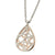 ✦Austaras✦ 14k gold plated and steel Wild Drop Pendant Necklace Women Christmas gift For her