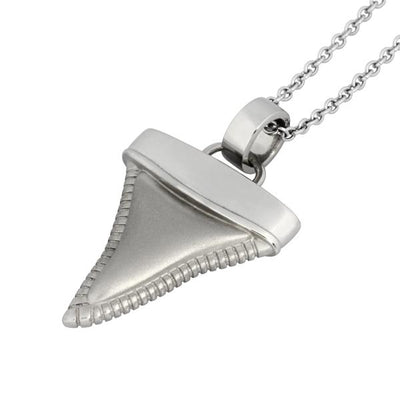 ✦Austaras✦ 14k Gold Plated/ Silver / L.Gun Shark Tooth Pendant Necklace Unisex Christmas gift