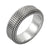 ✦Austaras Jewelry✦ 925 Black and Silver Ring Unisex Christmas Gift