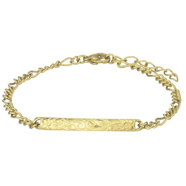 ✦Austaras✦ 14k Gold/Silver Plated/ Rose Gold Hawaiian Bar Bracelet Women Christmas gift for her