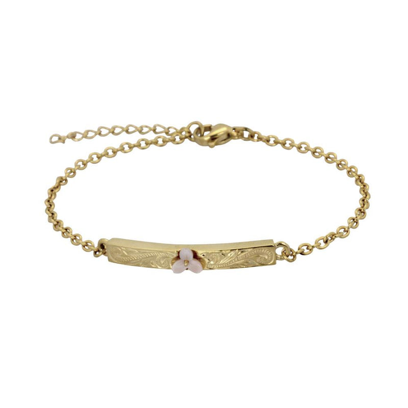 ✦Austaras Jewelry✦ 14k Gold and Natural Pink/ Silver and Natural light Bracelet Women Christmas Gift for her