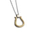 ✦Austaras✦ 14k gold plated horseshoe Pendant Necklace Women Christmas gift For her