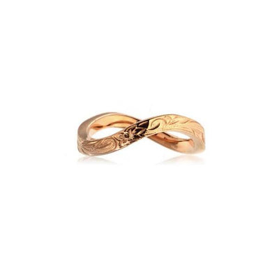 ✦Austaras Jewelry✦ 14k Gold/ Rose Gold/ Silver Infinity Ring Women Christmas Gift for her