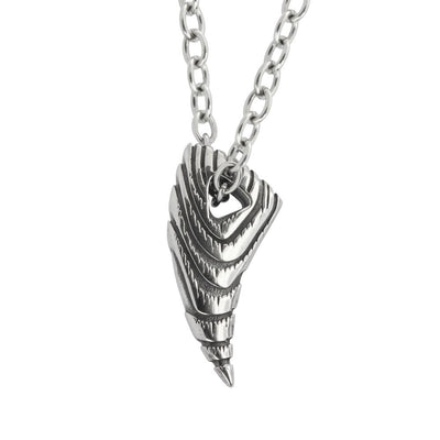 ✦Austaras✦  Silver plated Designed Arrowhead Pendant Necklace Unisex Christmas gift