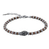 Hematite Bracelet by Austaras - Meditation Beads of Buddha Charm