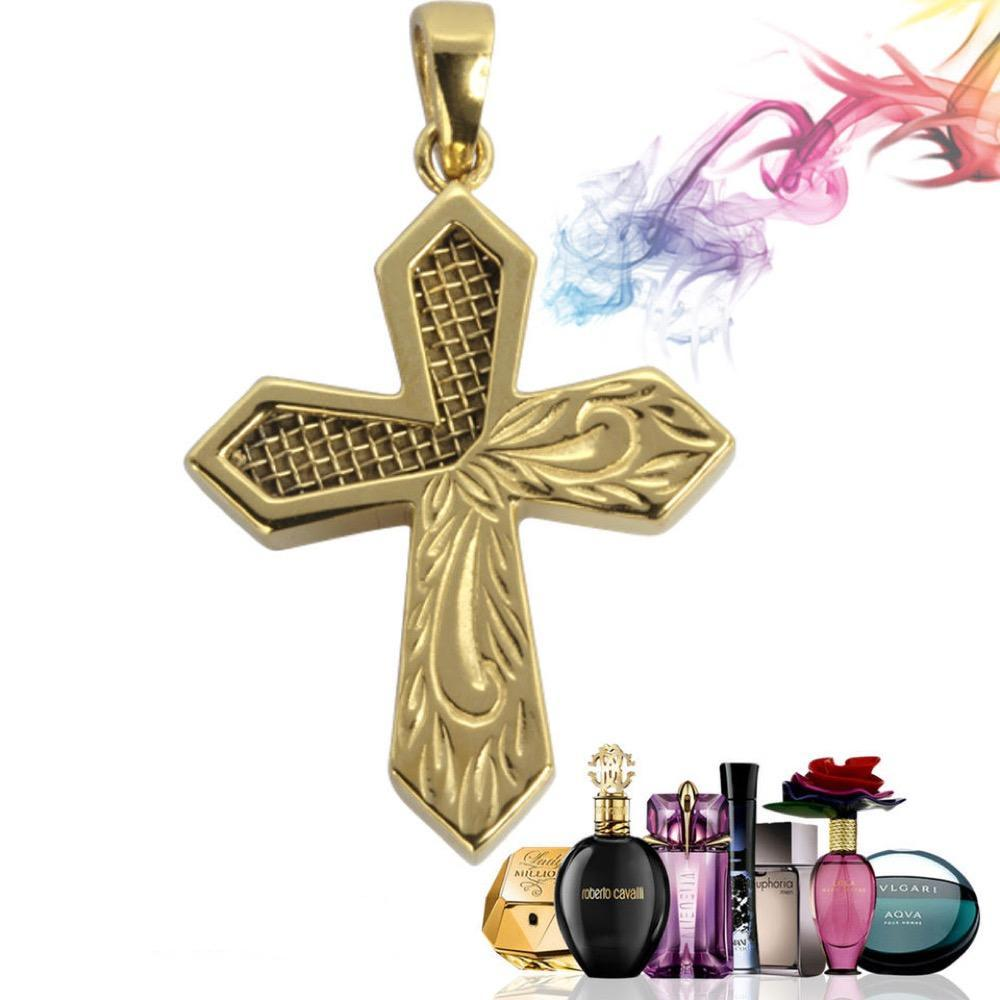 Perfume Cross Pendant