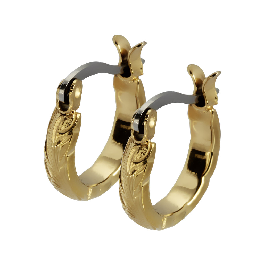 Pākikī Hoop Earrings