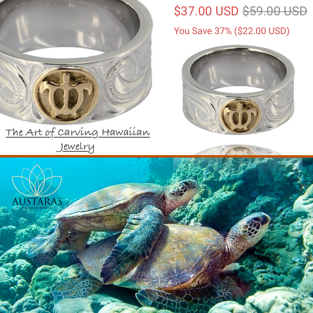 ✦Austaras✦ Magical Silver Turtle Ring • Unisex Christmas Gift