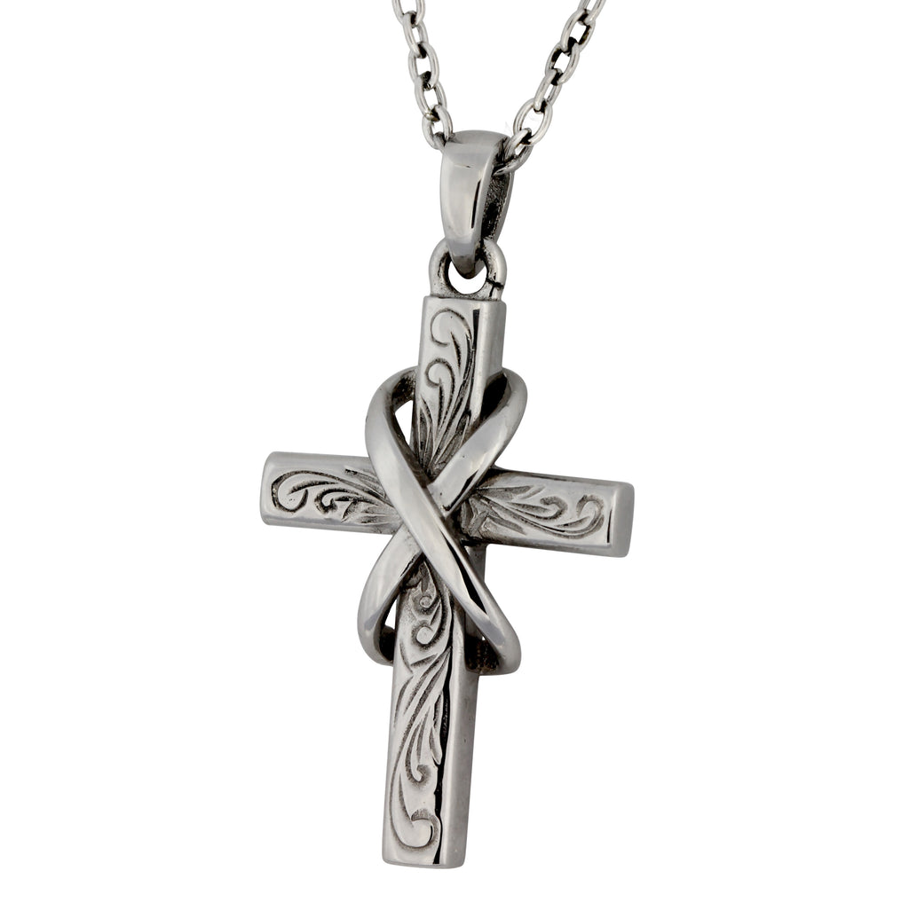 Cross Pendant by Austaras - Hawaiian Jewelry Infinity Necklace