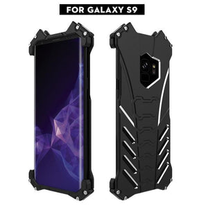 Aluminum Metal Cover Case For Samsung S9 Plus - For S9 / With Retailbox
