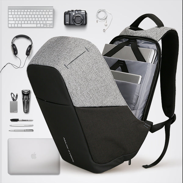 Top Brand Multifunction USB charging Men 15.6 inch Laptop Backpacks For Anti thief | FreeTheGadgets.com