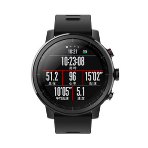 Smartwatch with long battery life  Bluetooth GPS PPG Heart Monior Waterproof - FreeTheGadgets
