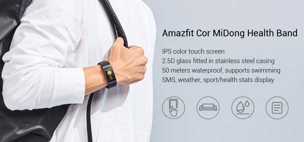 Smart Wristband Color IPS Screen Heart Rate Monitor Fitness Tracker Waterproof 50m | FreeTheGadgets.com