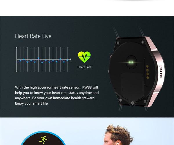 Smartwatch Phone Android 5.1 3G SIM Card Camera Gps Tracker | FreeTheGadgets