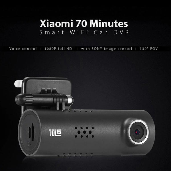 New Car Dash Cam 1080P Full HD Smart Car DVR Night Version WiFi 130 Degree G-Sensor Driving Record | FreeTheGadgets.com