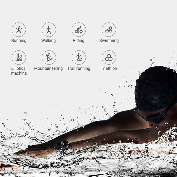 Smartwatch with long battery life  Bluetooth GPS PPG Heart Monior Waterproof | FreeTheGadgets.com