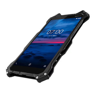 Nokia 7 plus Armor Heavy Dust Metal Aluminum Protect Skeleton Cover For For Nokia 7 Plus | FreeTheGadgets.com