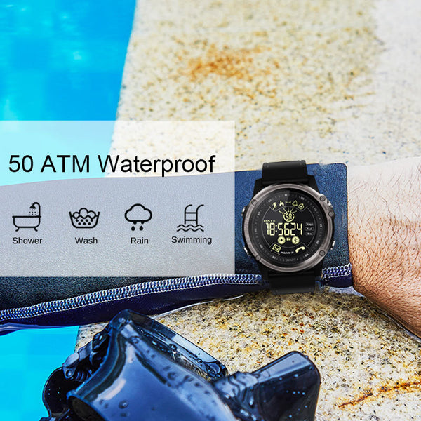 Smart Watch 50m Waterproof IP68 for ios android Reminders and Fitness Tracker | FreeTheGadgets.com
