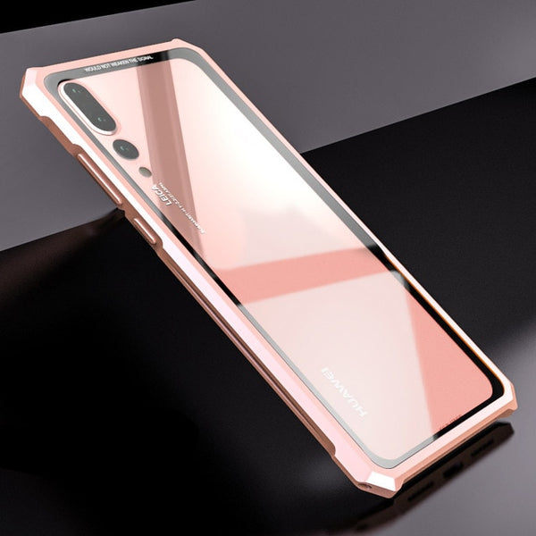 New Transparent Back Tempered Glass For Huawei P20 and P20 Lite