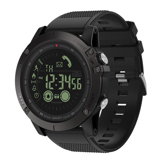 Tactical Smartwatch Pedometer All-Weather  For IOS / Android