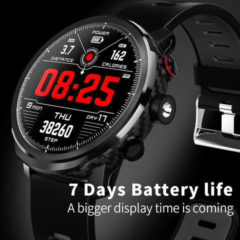 New Waterproof smartwatch with incredible 1 week battery life standby for 100 days