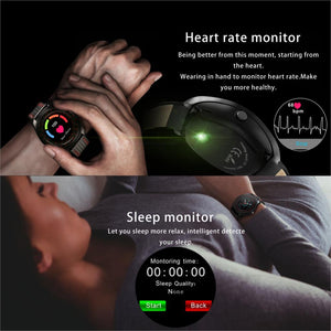 Smart Watch With Camera Bluetooth Smartwatch Heart Rate Monitor Sim Card Band Watch For Android IPhone