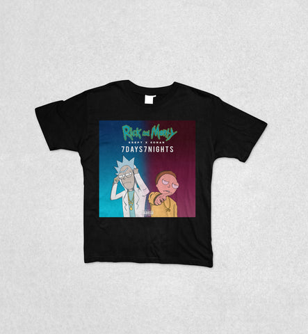 RICKY AND MORTY T-SHIRT