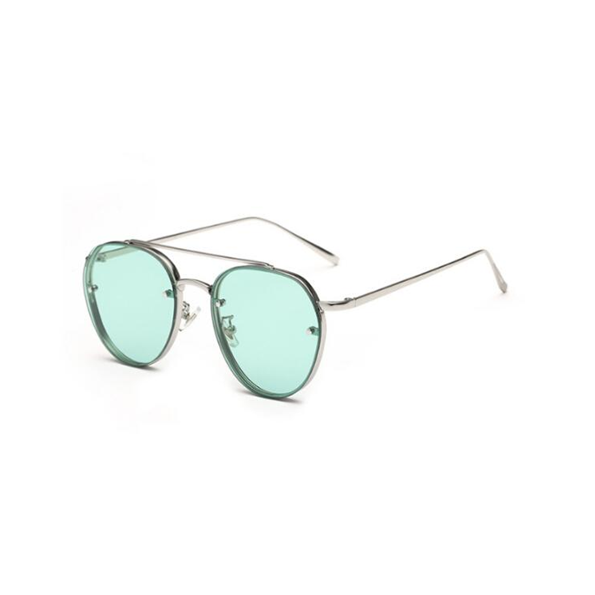 9c77a424e1 newest yellow green pink ocean sunglasses women fashion summer style steam  punk metal sun glasses men