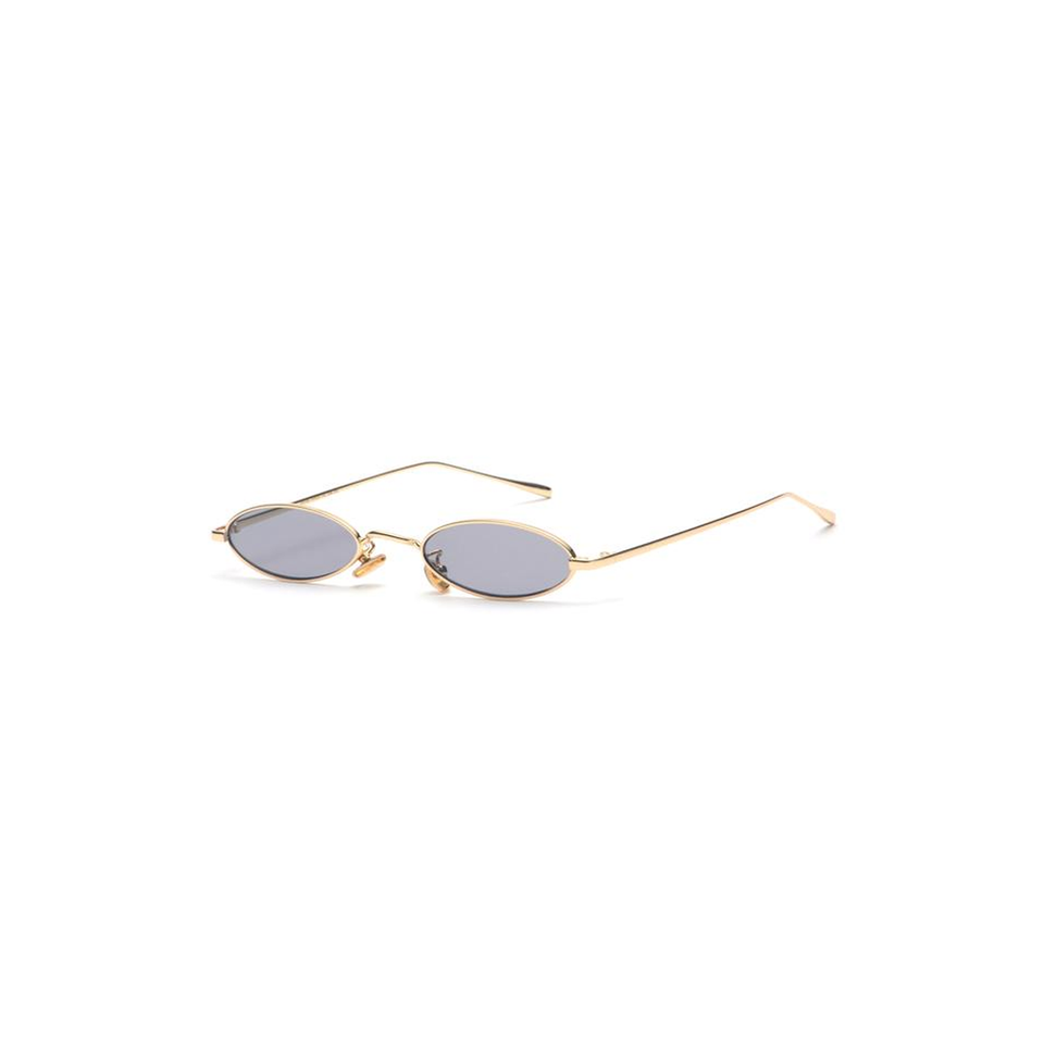 Helen - Small Oval Retro Sunglasses