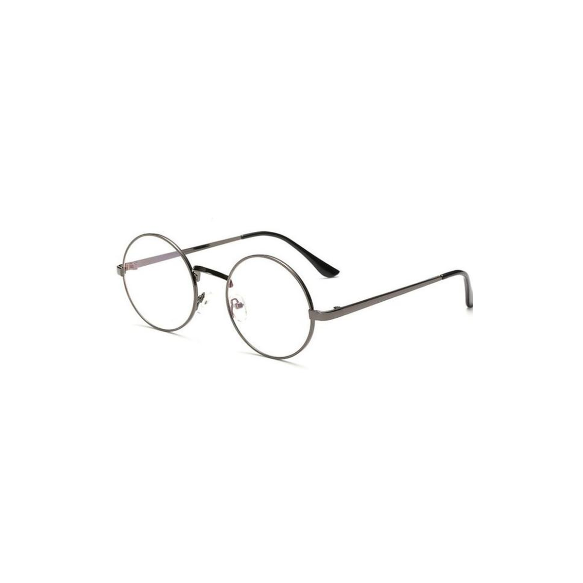 3b1a798db8 cheap small round nerd glasses clear lens unisex gold round metal frame  glasses frame optical men