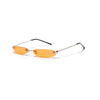 Calvin - Narrow Rectangle Rimless Sunglasses