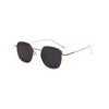 Ashley - Thin Metal Frame Square Sunglasses