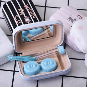 Cute Quotes Contact Lenses Case