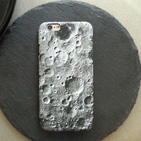 Moon surface texture for iphoneX case phone shell cosmos protective sleeve Tide - mobilecare17