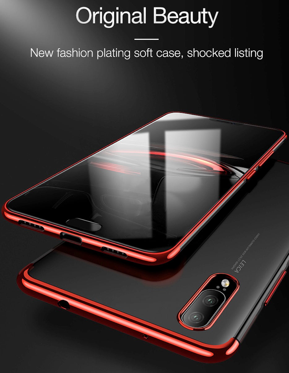 Ultra Slim Shockproof Bumper Case Cover For Huawei P20/ P20 Pro/ LITE - mobilecare17